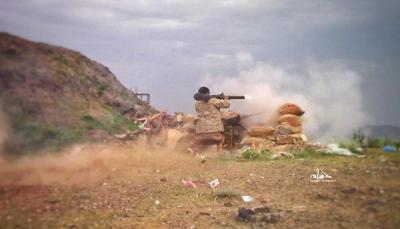 تعز.. قوات الجيش تتصدى لهجومين حوثيين شرق وغرب المدينة