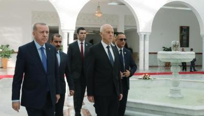 عقب زيارة مفاجئة.. أردوغان يتحدث عن إسهام تونس في جهود الاستقرار بليبيا