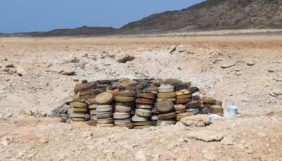 الجوف: تطهير 40 حقلاً ومنطقة من الألغام الحوثية بمديرية اليتمة