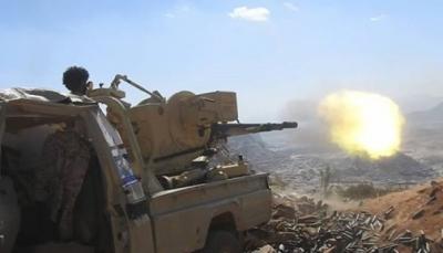 """الضالع: مقتل قياديين ميدانيين  من ميلشيات الحوثي بهجوم للجيش غرب """"قعطبة"""""""