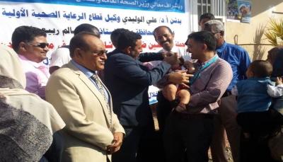 تدشين حملة تحصين لأكثر من 5 مليون طفلاً في عموم محافظات البلاد