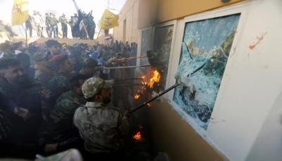 عقب اقتحام السفارة الأميركية ببغداد.. ترامب يتهم إيران وبومبيو يحذر القادة العراقيين