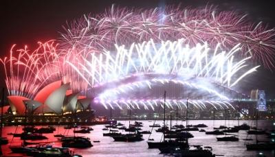 العالم يحتفل بحلول العام 2020 وسيدني تطلق إشارة دخول العقد الجديد