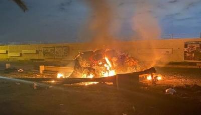 العراق: مقتل مسؤول بالحشد الشعبي بقصف صاروخي قرب مطار بغداد