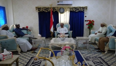 وزير الداخلية يطلع على أوضاع محافظة أرخبيل سقطرى