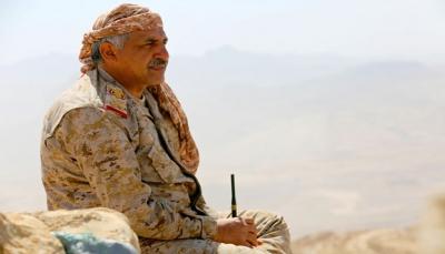 اللواء الذيباني يدعو الضباط في مناطق سيطرة الحوثي للمشاركة في استعادة الجمهورية