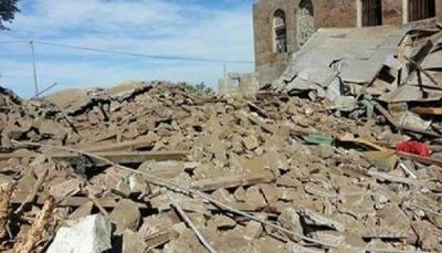 مسلحون قبليون يفجرون منزل محامي في ريف إب