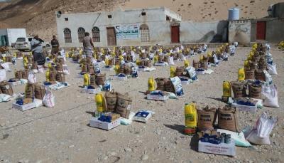 مؤسسة السبيل توزع 180 سلة غذائية على المتضررين والأسر الفقيرة بالمهرة
