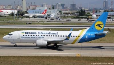 تحطم طائرة ركاب أوكرانية ومقتل جميع ركابها بعد إقلاعها من مطار ايراني