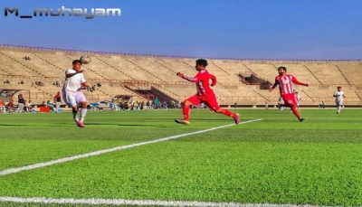 شعب حضرموت يحقق أول فوز له في الدوري التنشيطي على حساب اتحاد اب