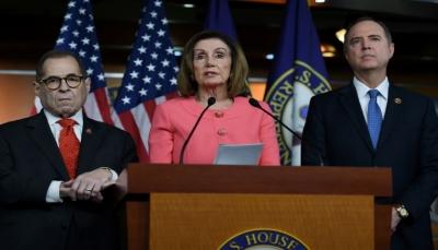 مجلس النواب الأميركي يوافق على إحالة القرار الاتهامي بحق ترامب على مجلس الشيوخ