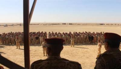 هجوم صاروخي يستهدف معسكرًا للجيش بمأرب وسقوط عشرات القتلى وجرحى
