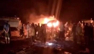 """مصدر عسكري لـ""""يمن شباب نت"""" 200 قتيل وجريح من الجيش بمأرب ومصدر القصف مجهول"""