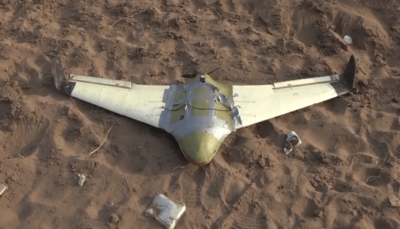 الجيش يسقط طائرة مسيرة للميليشيات جنوب الحديدة