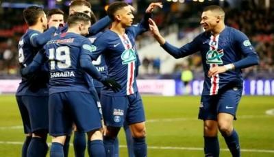 باريس سان جيرمان يضرب بسداسية ويتأهل لنصف نهائي كأس فرنسا