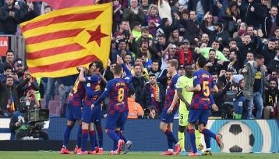 برشلونة ينجو من فخ خيتافي ويواصل الضغط على ريال مدريد
