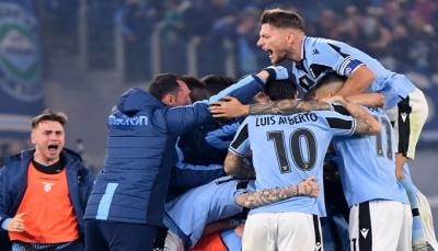لاتسيو يُسقط إنتر ميلان ويقبض وصافة الدوري الإيطالي