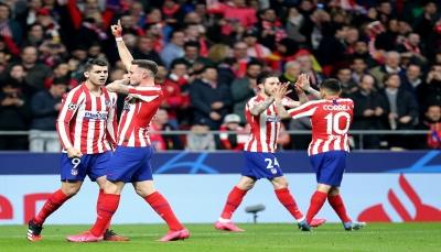 أتلتيكو مدريد يُسقط ليفربول ويكسب الأسبقية على ملعبه