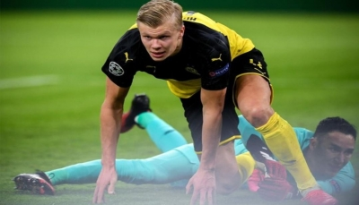 11 هدفا في 7 مباريات.. النرويجي هالاند يحطم الأرقام القياسية