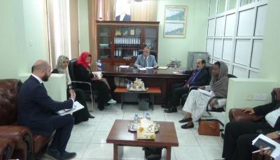 وفد أممي في عدن لتنفيذ مشروع دعم الأجهزة القضائية والأمنية