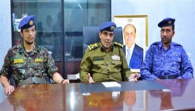 """شرطة شبوة تعلن نجاح الحملة الأمنية واستعادة كافة مباني الدولة في """"عتق"""""""