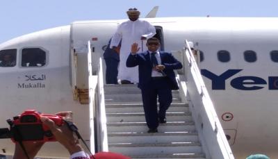 محافظ سقطرى يعود إلى المحافظة بعد رحلة علاجية