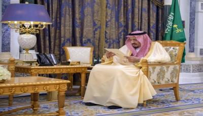 أول ظهور علني للملك سلمان بعد اعتقالات طالت ثلاثة أمراء سعوديين بارزين