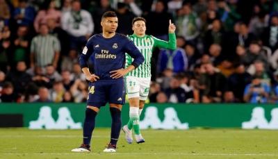 ريال مدريد يفشل في استعادة الصدارة ويتلقى هزيمة من ريال بيتيس