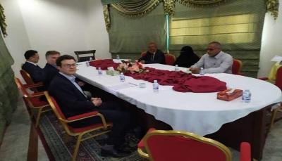 """خلال زيارته للمحافظة.. الوفد الأممي يلتقي قيادة حزب الاصلاح بـ""""حضرموت"""""""