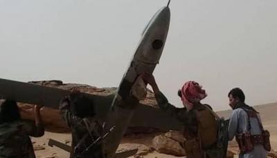 """الجوف: الجيش يسقط طائرة مسيرة للحوثيين شرق مدينة """"الحزم"""""""