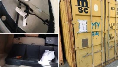 سقطرى: الأجهزة الأمنية تضبط حاويات إماراتية بداخلها معدات عسكرية