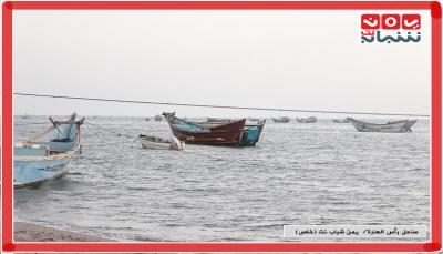 """لحج.. التهريب والجرف العشوائي يفاقمان معاناة الصيادين في """"رأس العارة"""" (تقرير خاص)"""