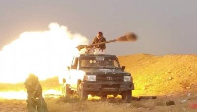 """الجيش يحقق تقدم في صرواح وينفذ هجوم على مواقع الحوثيين في جبهة """"نهم"""""""