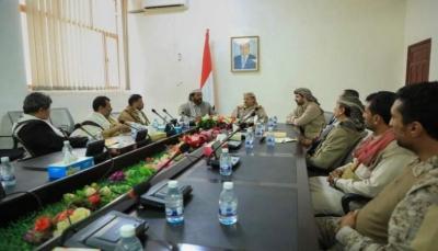 خلال اجتماع عسكري بمأرب... وزير الدفاع يدعو للنفير العام ضد الحوثيين