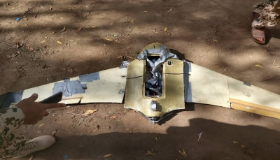 القوات الحكومية تسقط طائرة مسيرة حوثية جنوبي الحديدة