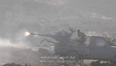 """مأرب: قوات الجيش تحرر مواقع جديدة وتتقدم إلى مشارف سوق """"صرواح"""""""