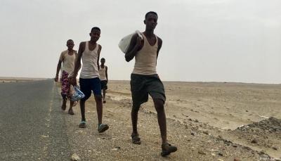 """مخاوف من انتقال """"كورونا"""" إلى تعز عبر اللاجئين الأفارقة"""