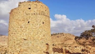 وزارة الثقافة: مليشيا الحوثي فجّرت قلعة أثرية بمدينة حجة