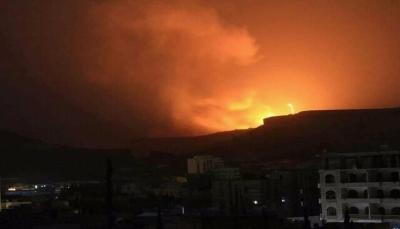 التحالف العربي يشن سلسلة غارات جوية في العاصمة صنعاء وضواحيها