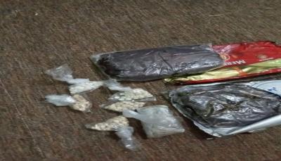 الأجهزة الأمنية تضبط كمية من الحشيش المخدر في حضرموت