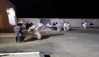 وصول 45 يمنياً عالقاً إلى مطار الريّان في رحلة قادمة من الامارات