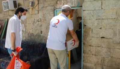"""""""الإغاثة التركية"""" تقدم مساعدات رمضانية لـ2760 أسرة في اليمن"""