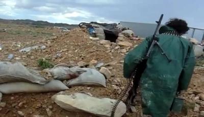 """البيضاء: الجيش الوطني يُفشل هجوماً حوثيا في جبهة """"قانية"""""""
