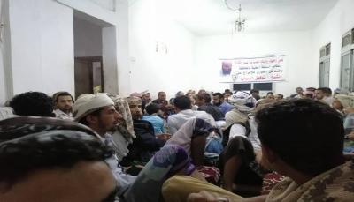 """تعز: مشايخ وأعيان """"المسراخ"""" يطالبون قوات الساحل الغربي إطلاق سراح الشيخ """"السبئي"""""""