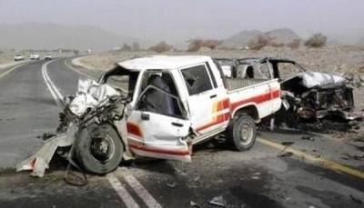 إب: وفاة وإصابة 15 مواطن في حوادث مرورية متفرقة