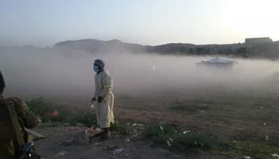 """البيضاء: مليشيات الحوثي تقصف مخيمات الفرق الطبية لفحص كورونا في """"قانية"""""""