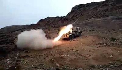 """الجيش يشن هجوماَ على مواقع الحوثيين في """"قانية"""" وقائد عسكري يتوعد بتحرير كافة البلاد"""