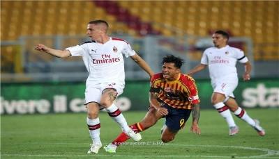 ميلان يكتسح ليتشي برباعية في الدوري الإيطالي