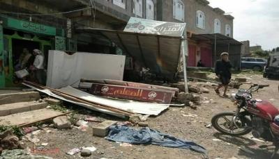 إب: جرف أكثر من 150 كشك بيع بإيعاز من قيادي حوثي