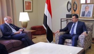 رئيس الوزراء ينتقد الأمم المتحدة: تغاضيها يشجع الحوثيين على مزيد من التمادي